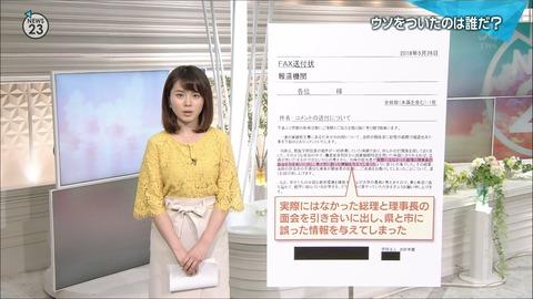 皆川玲奈 NEWS23 18/05/28
