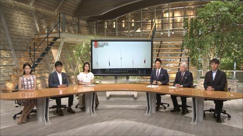 小川彩佳 報道ステーション 18/07/17