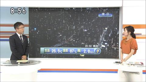 関口奈美 首都圏ニュース845 18/07/12