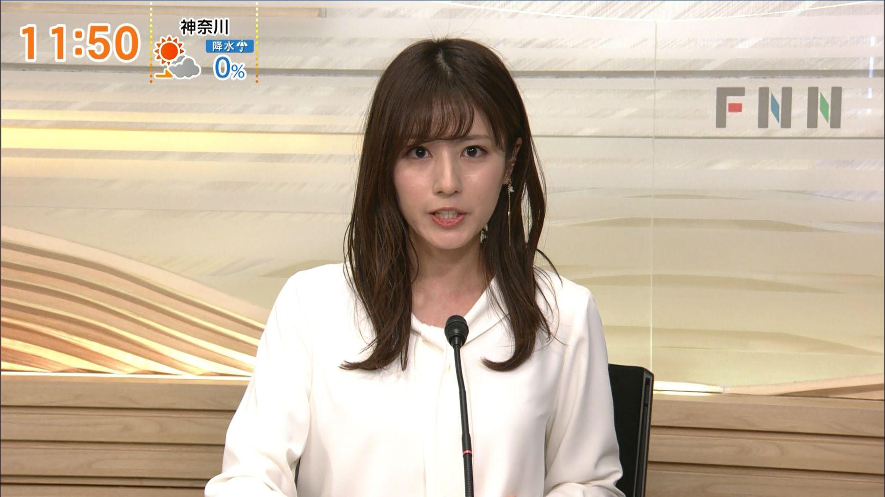堤礼実 FNNニュース 21/01/02 : 女子アナキャプでも貼っておく ...