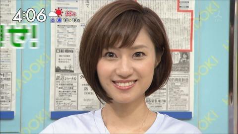笑顔が可愛い伊東楓アナ