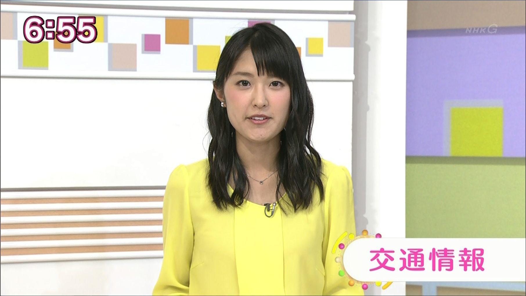 近江友里恵アナウンサーのウェーブ