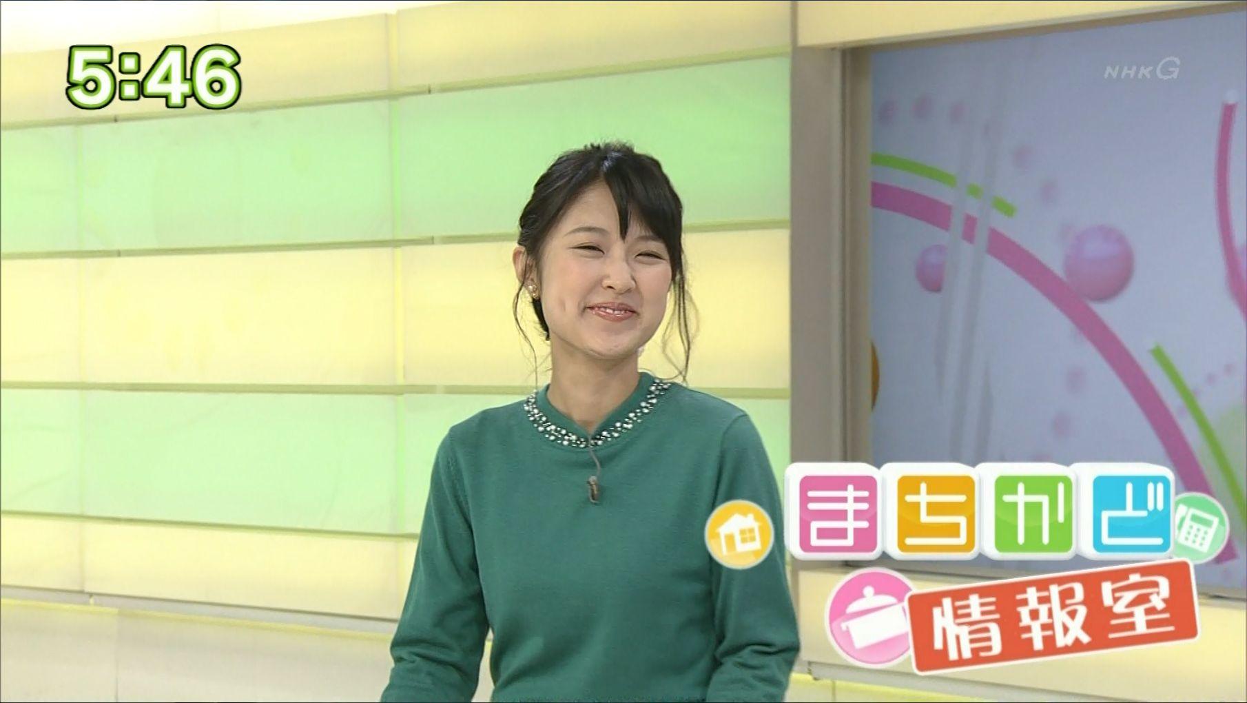 近江友里恵アナウンサーの笑顔