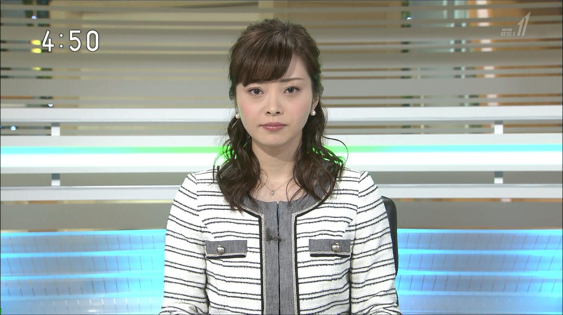 上代真希 BSニュース 17/04/09:...