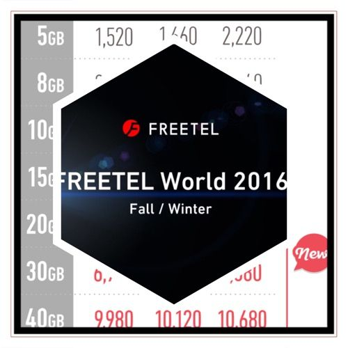 『FREETEL』の新プランを踏まえて、今後の通信契約を見直すよ!
