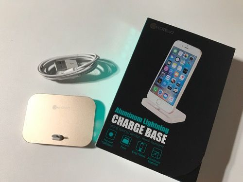 iPhone充電スタンド写真1