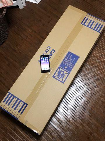 カシオ電子キーボード梱包写真
