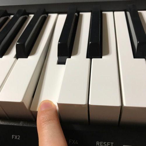 カシオ電子キーボード鍵盤写真