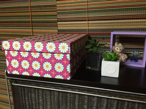 大人カワイイ花柄!見せる収納『ハインツコーポレーション 北欧風ボックス』