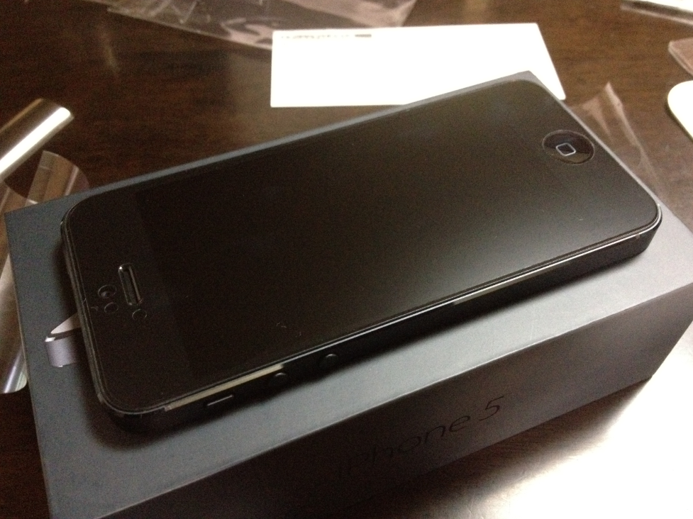 iPhone 5 antiglare film
