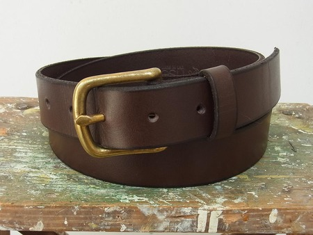 Leather Snap Belt