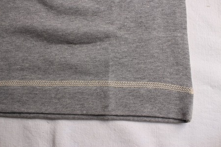 CREW NECKED TYPE LONG SLEEVE SHIRT