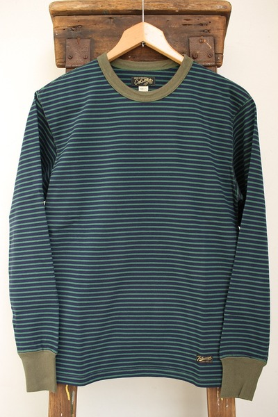 NEW PORT HEAVY BORDER TEE L/S