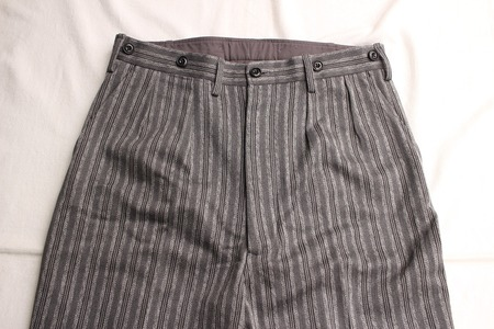 ORIGINAL STRIPE TWO PLEATED TROUSERS (4)