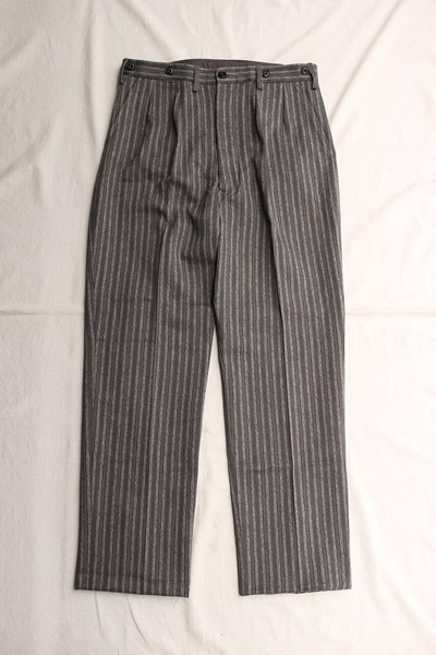 ORIGINAL STRIPE TWO PLEATED TROUSERS (1)