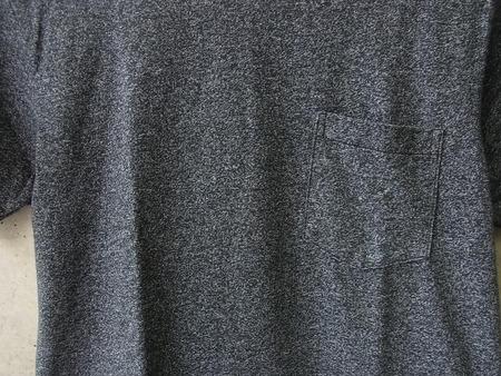 MOCK TWIST CREW NECK T-SHIRT with POCKET