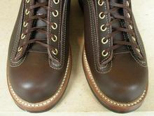 LOGGER BOOTS 'COWHIDE BROWN'
