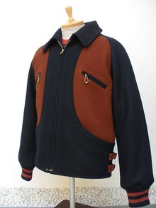 MELTON WOOL GRIZZLY JACKET