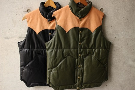 ALL LEATHER PRIMALOFT VEST