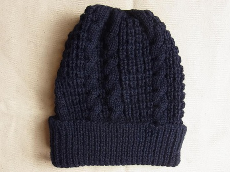 BEANIE (POPCORN&CABLE)