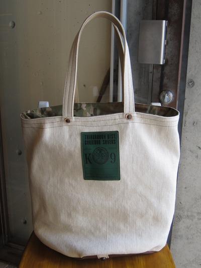FIELD BARREL TOTE LINEN
