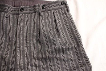 ORIGINAL STRIPE TWO PLEATED TROUSERS (6)