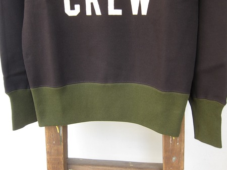 COLORED TRIMMED SWEAT SHIRT