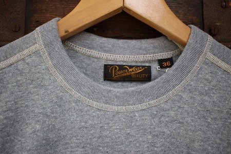 CREW NECKED TYPE LONG SLEEVE SHIRT