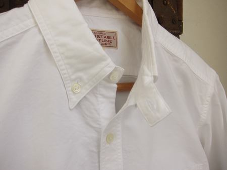 WORK STYLE OX BUTTON DOWN SHIRT