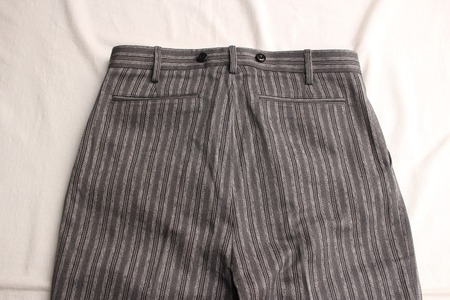 ORIGINAL STRIPE TWO PLEATED TROUSERS (10)