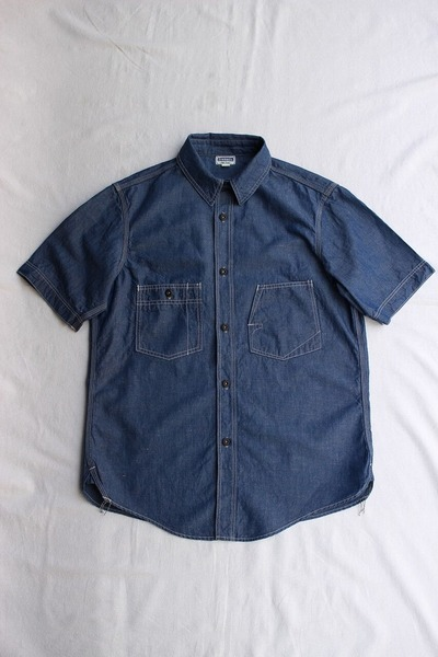 THE IRONALL SHORT SLEEVE WORK SHIRT (1)