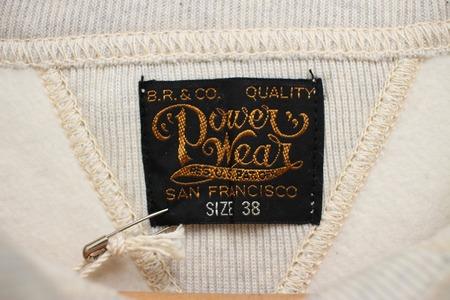 SET-IN SLEEVE SWEAT SHIRT