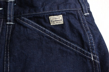 10oz DENIM DOUBLE KNEE PAINTER