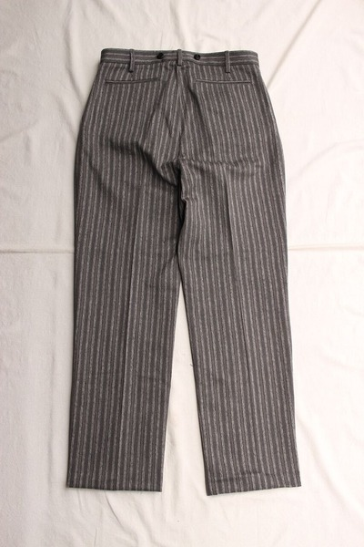 ORIGINAL STRIPE TWO PLEATED TROUSERS (2)
