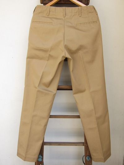 45 KHAKI COTTON TROUSERS