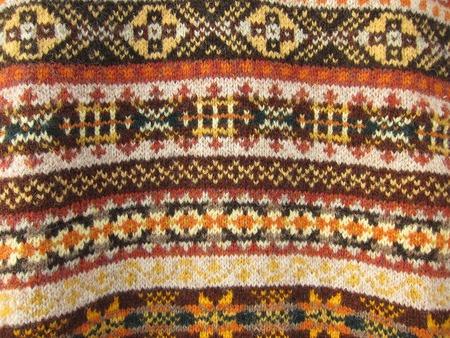 Fair Isle Wool Vest