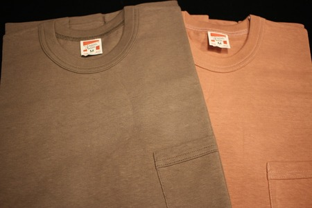 SET-IN SLEEVE POCKET T-SHIRT