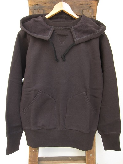 ATTACHED HOOD SWEAT PARKA
