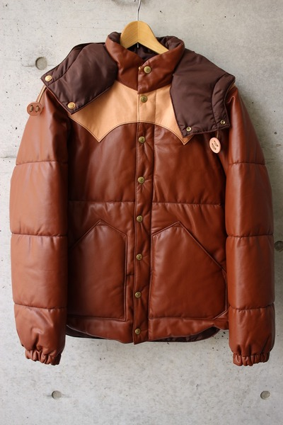 ALL LEATHER PRIMALOFT HOODED JACKET