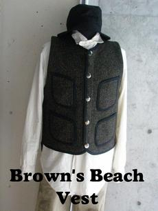 【Cushman】Brown's Beach コーディネートサンプル
