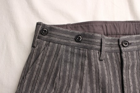 ORIGINAL STRIPE TWO PLEATED TROUSERS (5)