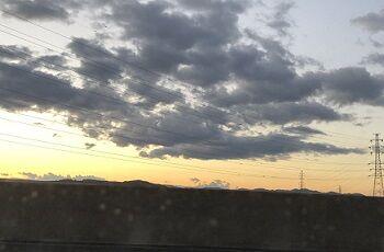 日の出とともに2