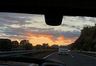 日の出とともに3