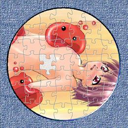 日替わり円形ジグソーパズル (復刻版)