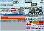 タミヤOP1630スポンサーステッカーセット (オフロード