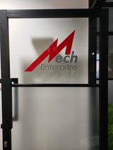 Mech Enterprize sticker ( view 2)