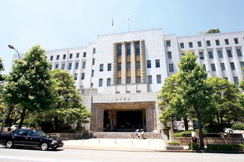 大阪府庁正面玄関