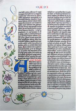 グーテンベルクの42行聖書