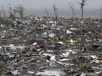 フィリピン_台風被害