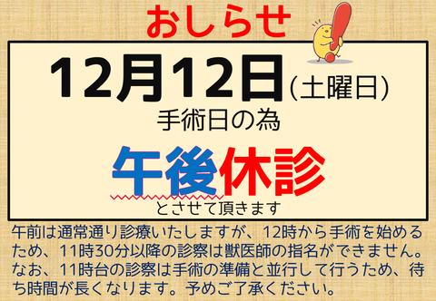203_休診_午後_手術日